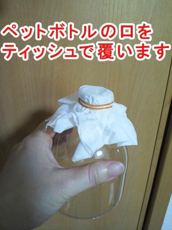 カブトムシの幼虫用ペットボトルケースの作り方⑤